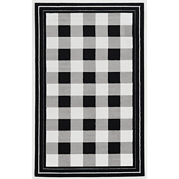 Glenn Black Area Rug by Zipcode Design