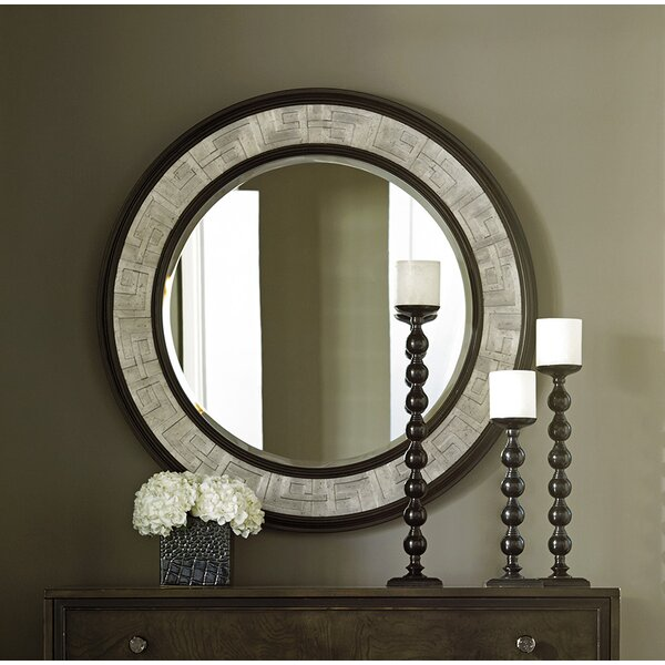 Brentwood Round Dresser Mirror by Barclay Butera
