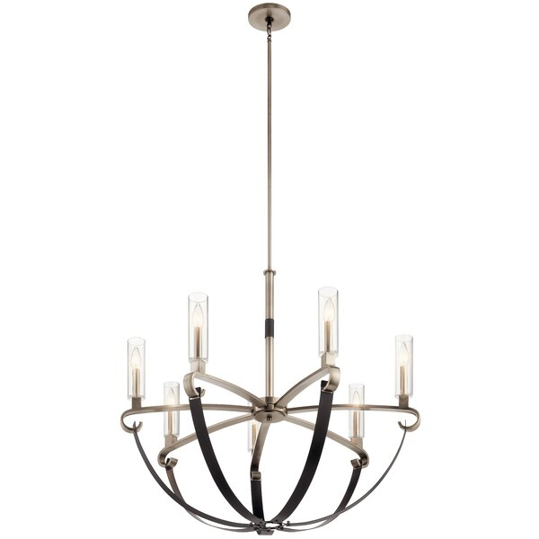 Jale 6 - Light Candle Style Classic Chandelier By Gracie Oaks