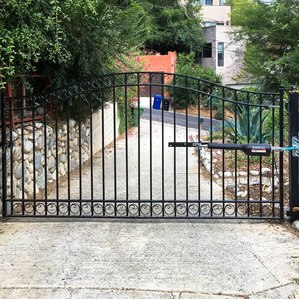 Dublin Single Swing Driveway Gate by ALEKO