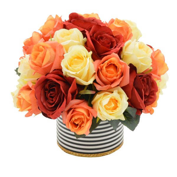 Mixed Rose Bouquet by House of Hampton