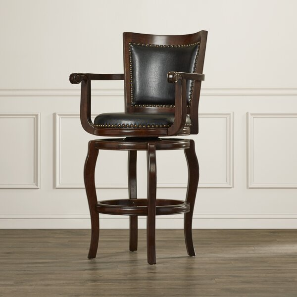 Greer 29 Swivel Bar Stool by Darby Home Co