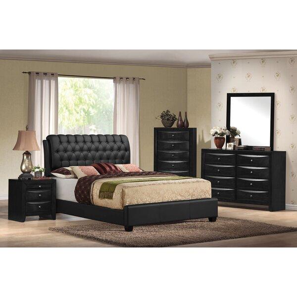 Santillan Upholstered Standard Bed by Red Barrel Studio