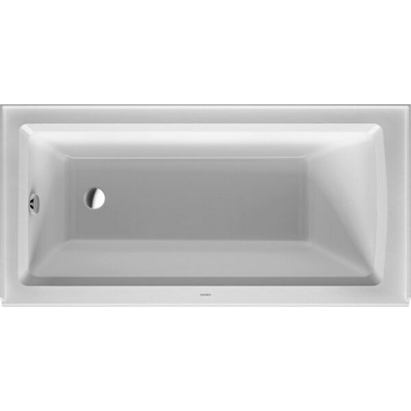 Architec 60 x 30 Alcove Soaking Bathtub by Duravit