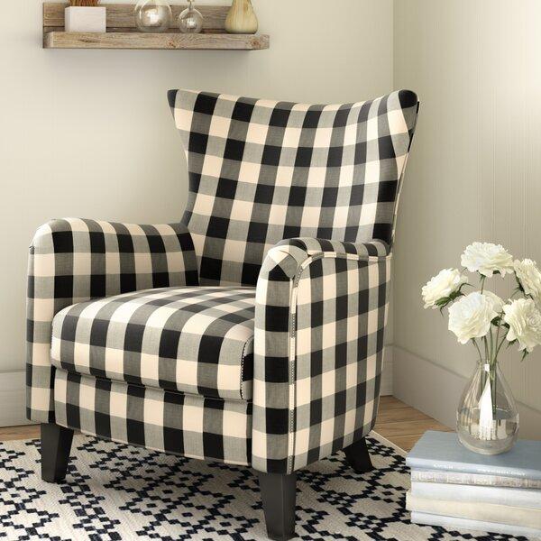 Louna Fabric Armchair by Gracie Oaks
