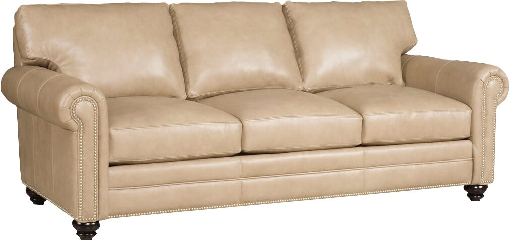 Daire Leather Sofa By Bradington Young