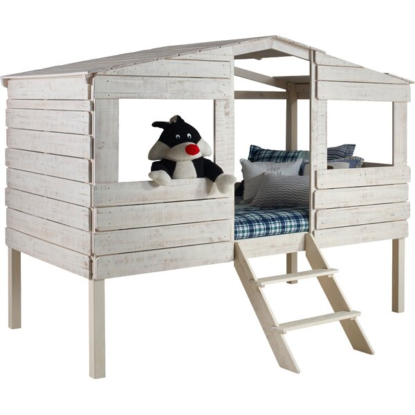 Donco Kids Tree House Twin Low Loft Bed Reviews Wayfair