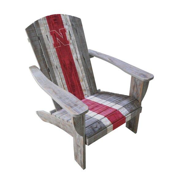 NCAA Wood Adirondack Chair by Imperial International