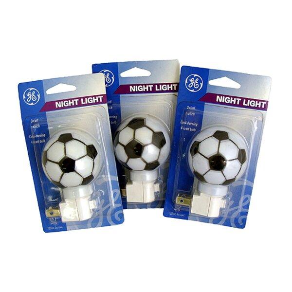 Soccer Ball Sports Decorative Night Light (Set of 3) by Northlight Seasonal