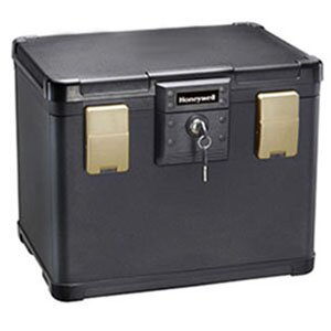 0.6 CuFt 30 Minute Waterproof Fire File Molded Chest by Honeywell