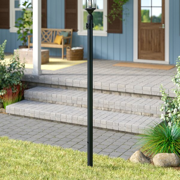 Pritchard Cast Aluminium 84 Post by Charlton Home