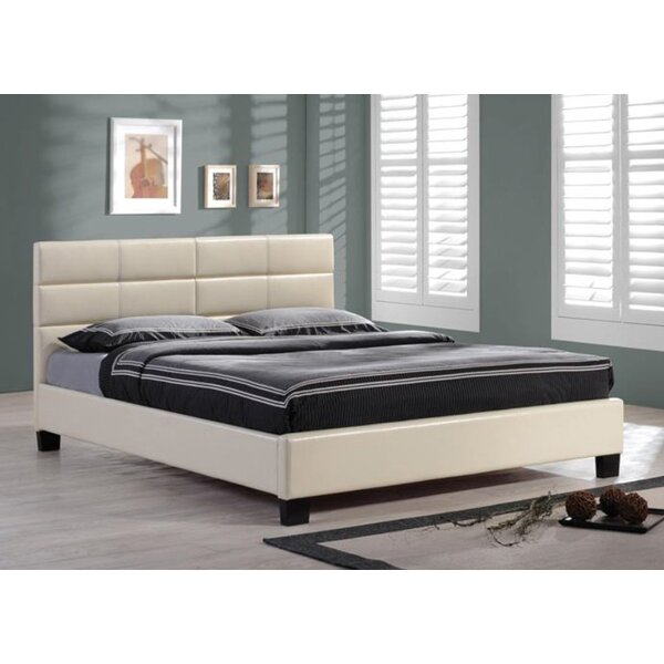 Upholstered Platform Bed by BOGA Furniture