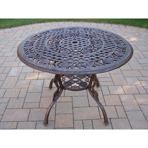 Robertsdale Metal Dining Table By Fleur De Lis Living