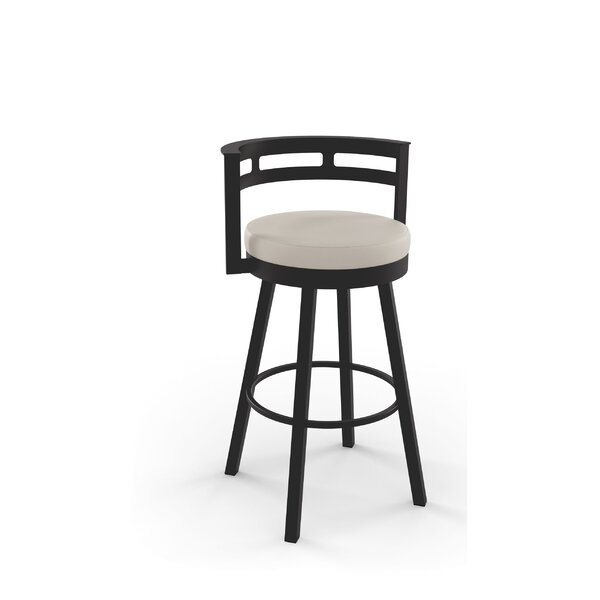 Brookford 30.63 Swivel Bar Stool by Latitude Run