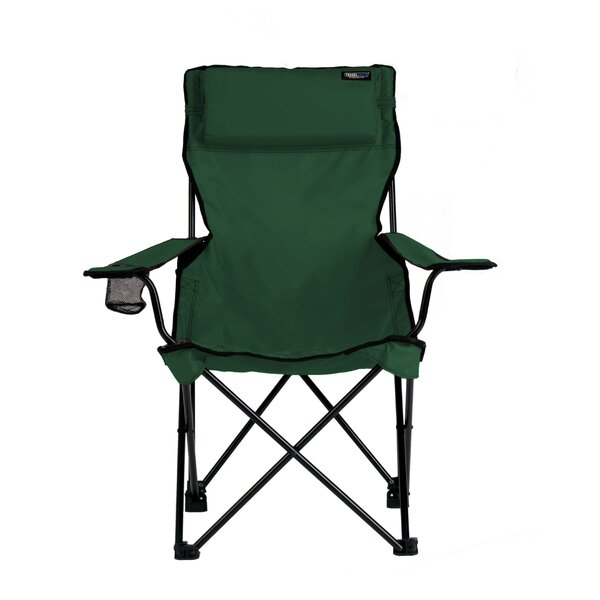 Classic Bubba Folding Camping Chair with Cushion b