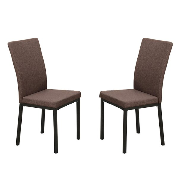 Bobkona Kasen Parsons Upholstered Dining Chair (Set of 2) by Poundex