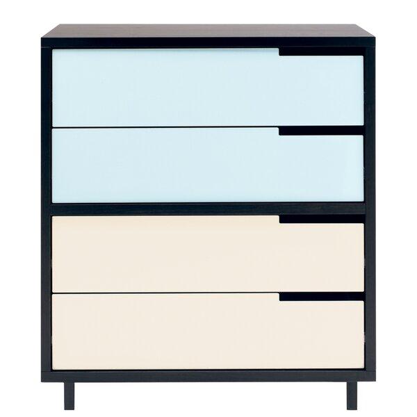 Modu-licious 4 Drawer Dresser by Blu Dot