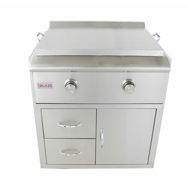 Grill Cart for Gas Griddle by Blaze Grills