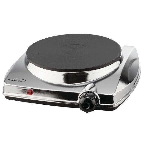Electric Single Hotplate by Brentwood Appliances