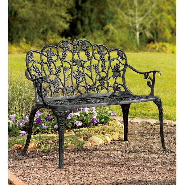 Grape Aluminum Garden Bench By Plow & Hearth