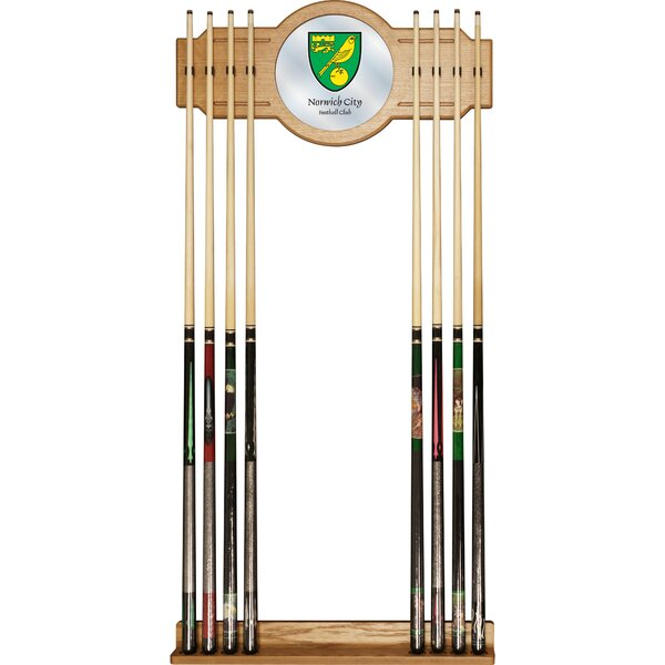 Premier League Team Wall Cue Racks by Trademark Global