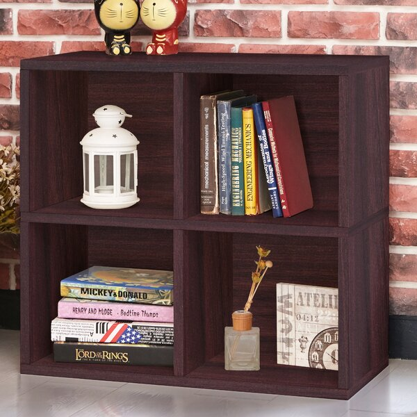 Skye Quad Cube Unit Bookcase by Ebern Designs