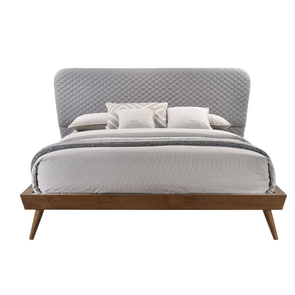 Lannie Mid-Century Upholstered Platform Bed By Brayden Studio by Brayden Studio Best #1