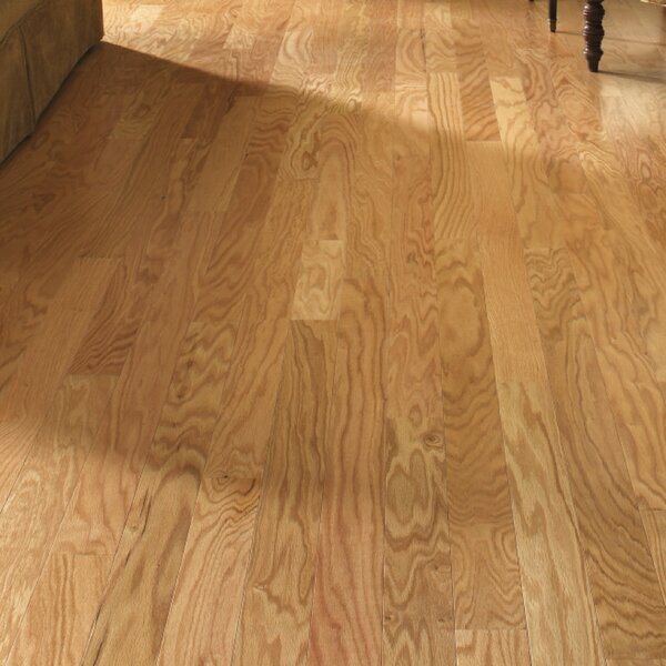 Gevaldo 3 Engineered Red Oak Hardwood Flooring in Natural by LM Flooring