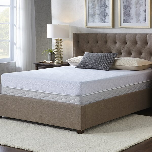 Sertapedic 7 Medium Memory Foam Mattress and Box Spring by Serta
