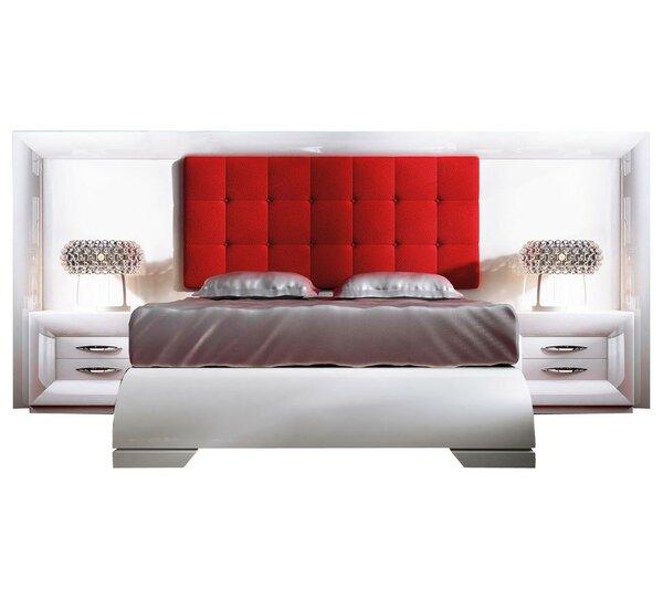 Krajewski Special Headboard Standard 3 Piece Bedroom Set by Everly Quinn