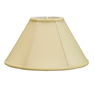 Reviews Mushroom Pleat 18 Silk/Shantung Empire Lamp Shade By Deran Lamp Shades
