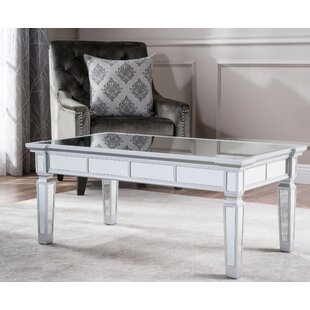 Walsall Mirrored Coffee Table House of Hampton