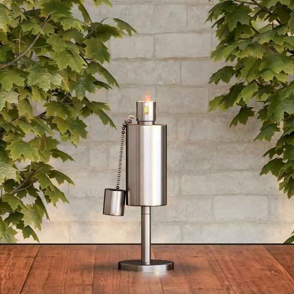 Tabletop Lamp Garden Torch by Pure Garden