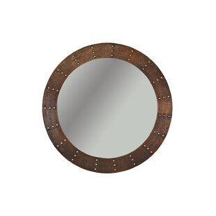 Premier Copper Products Riveted Hand Hammered Accent Mirror