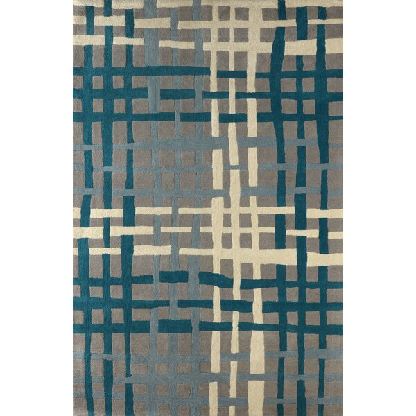 Courtney Hand Tufted Lapis Area Rug by Latitude Run
