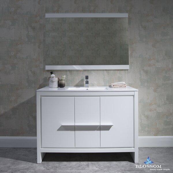 Artemis 47 Single Bathroom Vanity Set with Mirror by Ivy Bronx