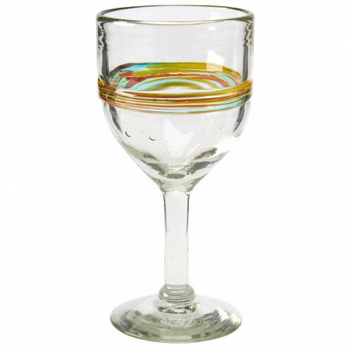 Seamus Artisan Glass 10 oz. All Purpose Goblet (Set of 4) by Langley Street