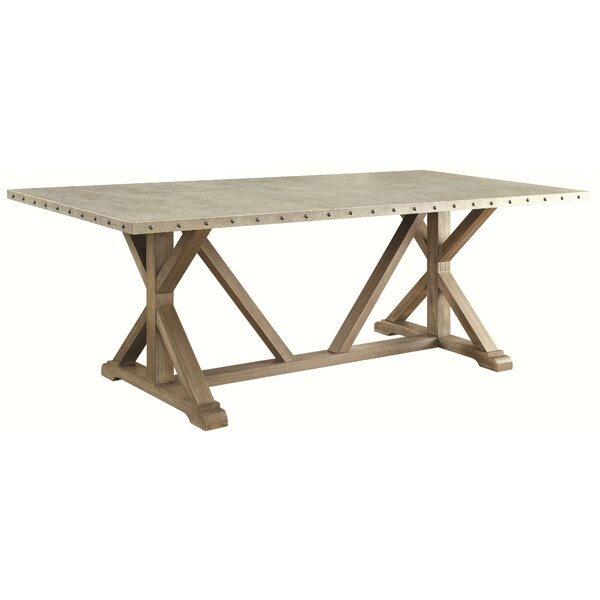 Charlot Dining Table by Gracie Oaks