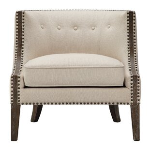Read Reviews Exeter Barrel Chair by Darby Home Co