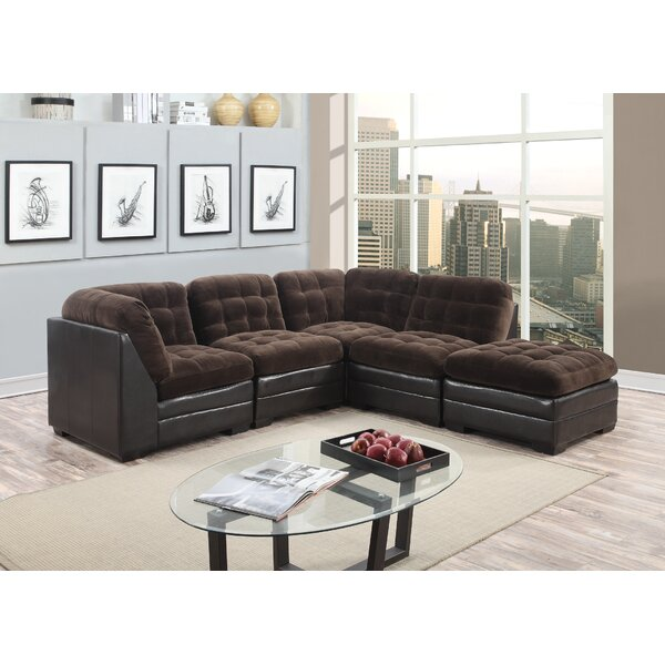 Morrison Modular Sectional with Ottoman by Porter Designs