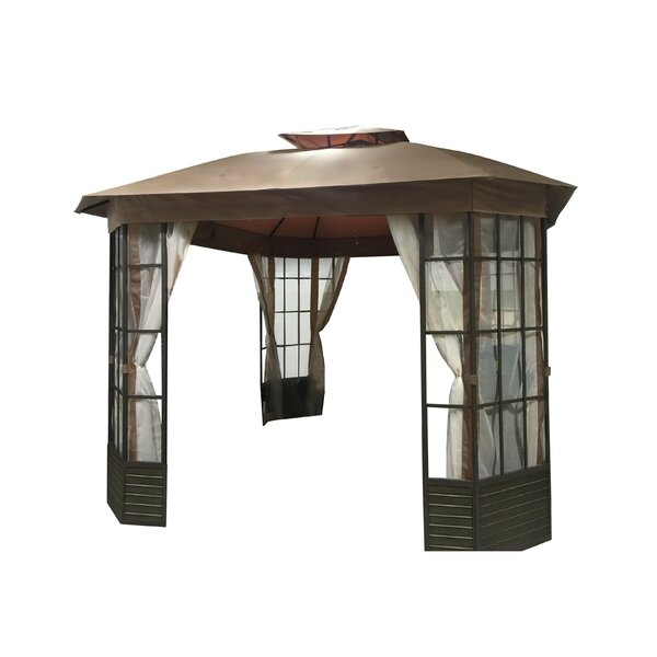 Replacement Canopy (Deluxe) for Lake Charles Gazebo by Sunjoy