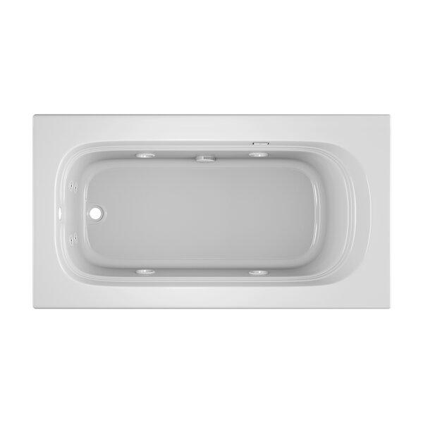 Luxura 60 x 32 Drop In Whirlpool Bathtub by Jacuzzi®