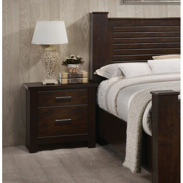 Felder 2 Drawer Nightstand by Latitude Run