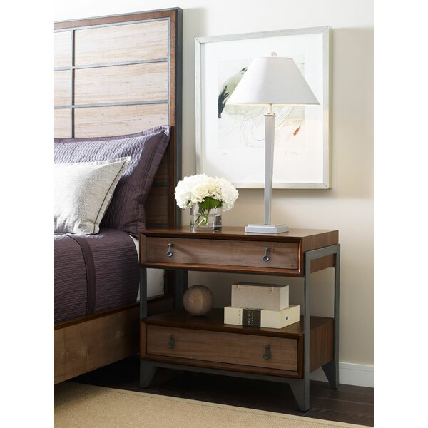 Catalina 2 Drawer Nightstand by Foundry Select