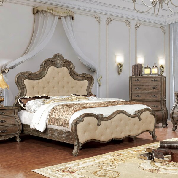 Adorno Upholstered Standard Bed by One Allium Way