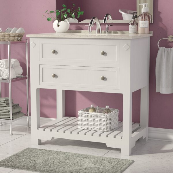 Dorchester 36 Free-standing Single Bathroom Vanity Set by Andover Mills