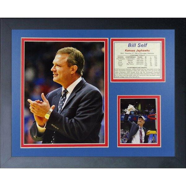 Bill Self Kansas Jayhawks Framed Memorabilia by Legends Never Die