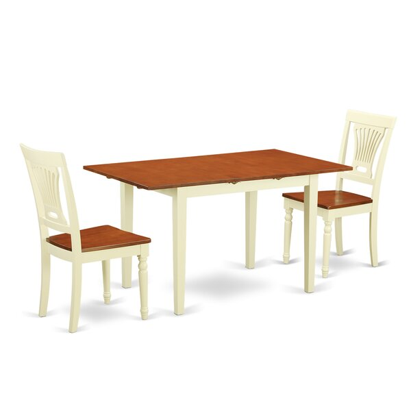 Norfolk 3 Piece Dining Set by Wooden Importers
