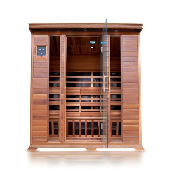 Sequioa Luxury 4 Person FAR Infrared Sauna by SunRay Saunas