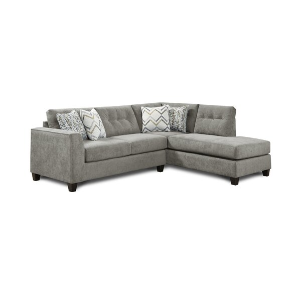 Gorton Right Hand Facing Sectional by Red Barrel Studio Red Barrel Studio